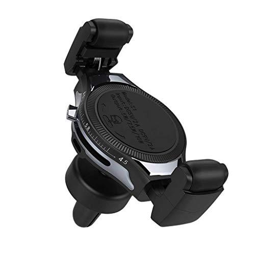 KFZ-laddningskabel Car Wireless Charger snabbladdning Snabb trådlös mobilladdare för luftutsläppshållaren adapter (färg: C)