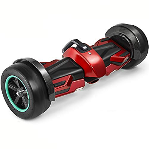 Spadger G-F1 Racing Hoverboard, Speaker, LED Lights & Smart App Enable, 700W Dual Motors with 8.5