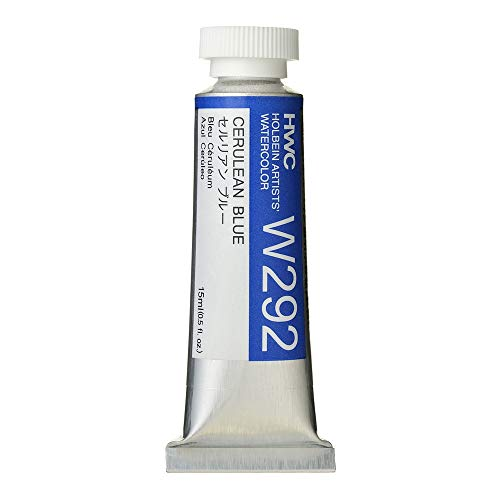 Holbein Artist's Watercolor 15ml Tube (Cerulean Blue) W292