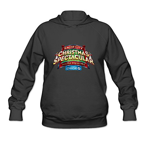 Fashion 2016 Hot Christmas Spectacular Rockettes Logo Hooded Sweatshirt For Women