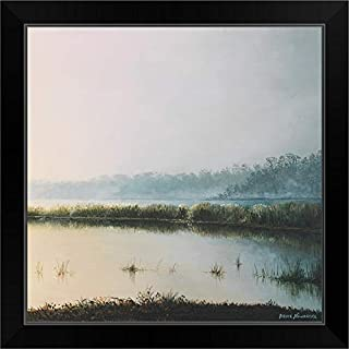 CANVAS ON DEMAND Early to Rise II Black Framed Art Print, 19