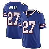 WASDQE Allen17# KELLY12# vêtements de Rugby T-Shirts de Rugby Buffalo Bills-blue27-L