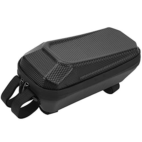 RNOX Bolsa para cuadro de bicicleta, Bolsa de almacenamiento para scooter eléctrico Bolsa de carcasa dura impermeable Paquete colgante frontal para herramienta de reparación de llaves de teléfono