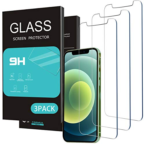 Homemo Glass Screen Protector Compatible for iPhone 11/iPhone XR 6.1 Inch 3 Pack Tempered Glass