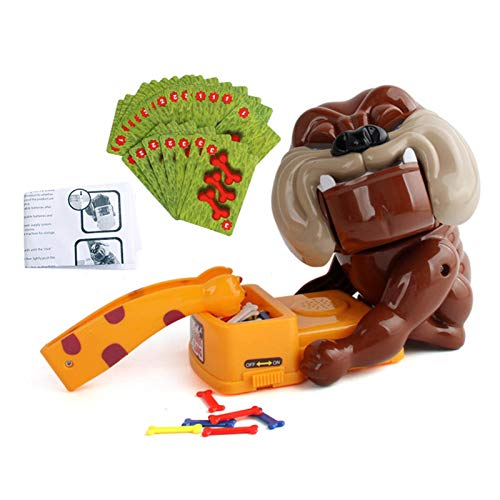red dieny Juguete para Morder El Dedo del Perro, Juego De Broma para Fiestas Interactivo, Juguete para Morder La Boca, Juguetes para Niños para La Coordinación Mano-Ojo