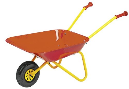 Rolly Toys Kinder Schubkarre aus stabilem Metall, ab 3 Jahre