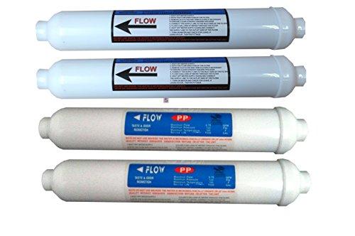 Annuellement Prefilters-Filtre de Remplacement pour système de Filtre à Osmose Inverse pour Aquarium système de Filtre Disque à Eau 3 étapes