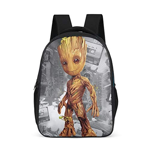 Baby Groot - Mochila para niños, duradera, para libros escolares, para niños y adultos, regalo para niños y niñas
