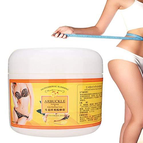 Straffende Creme, Körpermassage   Creme für Bauch, Gesäß, Hüfte und Arme Schnelle Absorption und Anti Cellulite   Body Reducer für Frauen und Männer 300g