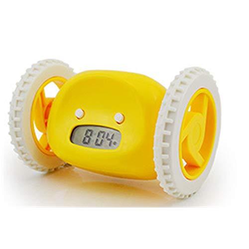 Sluimerwekker, eenvoudige bediening van de snooze, de kleine wekker met achtergrondverlichting, display on/off-camera, voor slaapkamer, horloges, nachtkastje, 16,5 x 11,5 x 11 cm, licht en eenvoudig te installeren