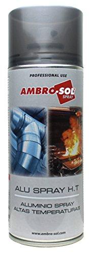 Ambro-Sol Z355/ALU Spray Imprimación Galvánica, Plata, 400 ml