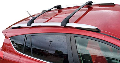 BRIGHTLINES Aero Roof Rack Cross Bars Compatible with Toyota RAV4 2013-2018