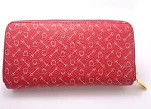 محافظ للبطاقات و الهويات لون احمر للنساء