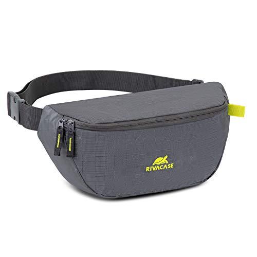 Rivacase 5512 Riñonera riñonera para el hombro, para el pecho, para correr, para el hombro, para deportes al aire libre, viajes con tablet de hasta 10,1 pulgadas y Smatphone