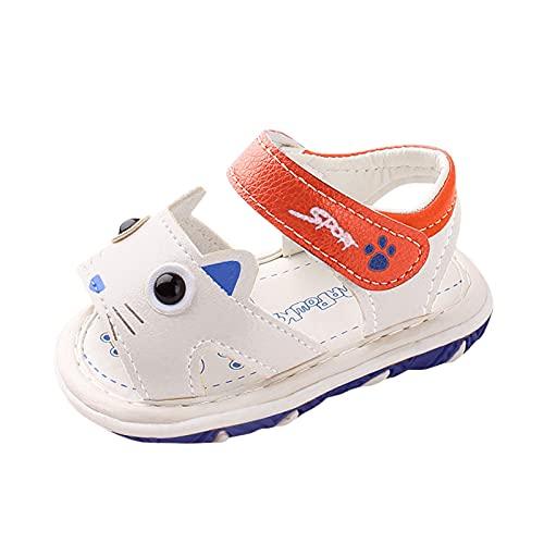 YWLINK Zapatos Sandalias De Bebé,Unisexo Zapatos Bebe Primeros Pasos ReciéN Nacido 6-24 Mes Bebé Casual Verano Zapatos Suela Blanda Zapatillas Antideslizante Sandalias,Zapatos Romanos De Playa