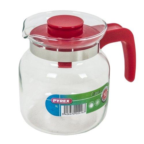Pyrex 711A Bricco, Rosso, 1 l