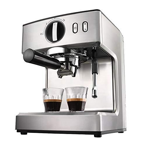 RLIRLIRLI espressomachine met espressopomp, espressomachine 1100 W met melkopschuimer Area Tazza, cappuccino, koffiezetapparaat Americano