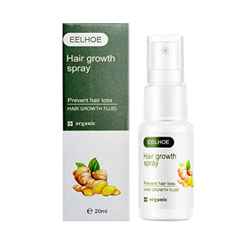 Mumaya Ingwer Haarwuchs Spray, Anti Haarausfall Haarverdickungsspray, Haarpflege ätherisches Öl Haarwuchs Spray, Haarwachstum Serum Wachstum Ingwer Spray