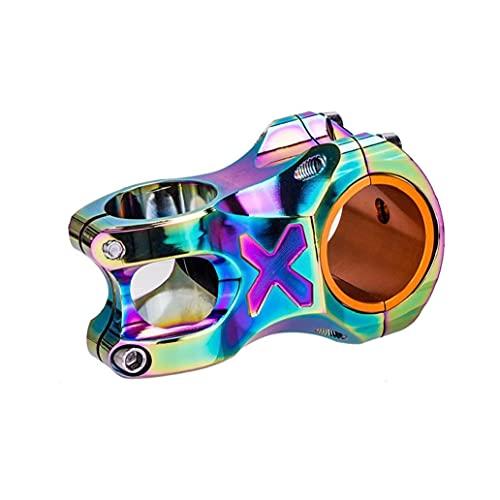 Bike Handlebar Stem CNC Colorful Hollow Short Stem Aluminum Alloy Cycling Accessories 50mm Mountain Bike Stem