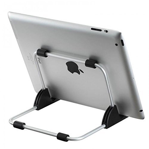 GARHIL Universal iPad stand | Tab stand holder| iPad holder for 7″-12″ iPad | iPad stand for table| tablet holder stand| tablet stand holder | stand for tablet | iPad holder for table| stand for iPad and Any Other Types of Tablets