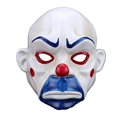 BR Harz Halloween Maske Clown Robber Maske Joker traurig Film