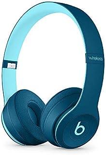 Beats Solo3 Wireless On-Ear Headphones Pop Collection- (Renewed) (Pop Blue)