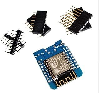 TD-ELECTRO ESP8266 ESP-32 ESP-12 ESP-12F CH340G CH340 V2 USB D1 Mini WiFi Development Board D1 Mini NodeMCU Lua IOT Board 3.3V with (Module)