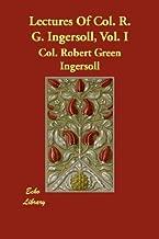والمحاضرات من col. R. G. ingersoll ، vol. I