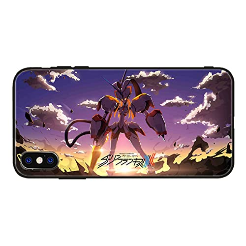 Anime Darling in The Franxx Zero Two Panzerglas Hülle für iPhone 6 6s 7 8 Plus 12 11 Pro Max Mini X XR XS Max SE 2020 Phone Cover