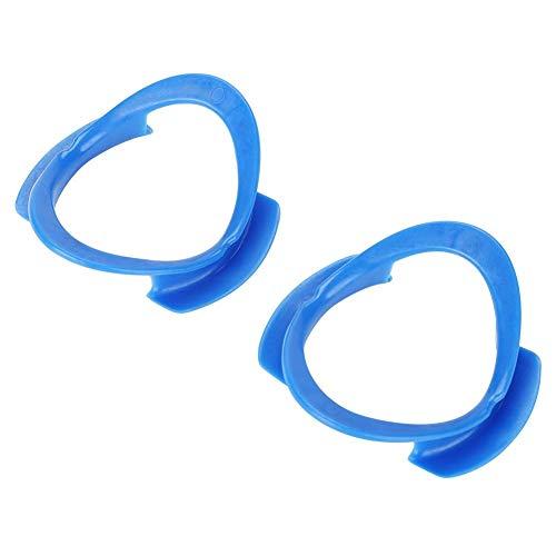 O-förmiger Mundöffner, Biuzi 10 Stück Einweg-Wangenaufroller Mundöffner Zahnarztwerkzeuge(Blau)