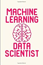 Machine Learning Data Scientist Research Quote College Ruled Notebook: Blank Lined Journal