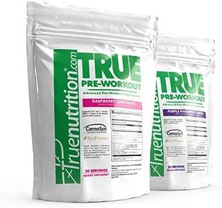 True Nutrition Advanced Pre-Workout Supplement | Delicious Purple Pineapple Flavor | Supports Energy, Endurance, Focus, Dr...