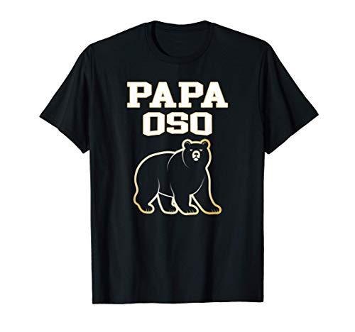 Hombre Papá Oso Original Regalo Navidad Familia para Padres Papi Camiseta