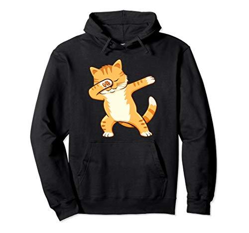 Dabbing Katze Dab Cat Katzen Geschenk Pullover Hoodie