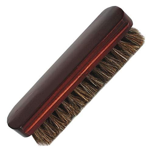 Rosshaarbürsten aus Holz, weiche Schuhbürste für Stiefel, Schuhe, Sofas, Möbel, Autositze.