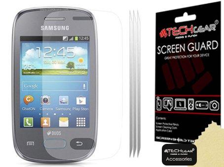 TECHGEAR–Pellicola Protettiva per Samsung Galaxy Pocket Neo S5310(Confezione da 3)