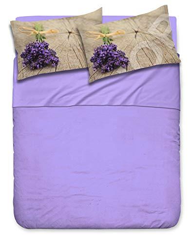 Confezioni Giuliana Juego de sábanas para cama de matrimonio de 2 plazas.