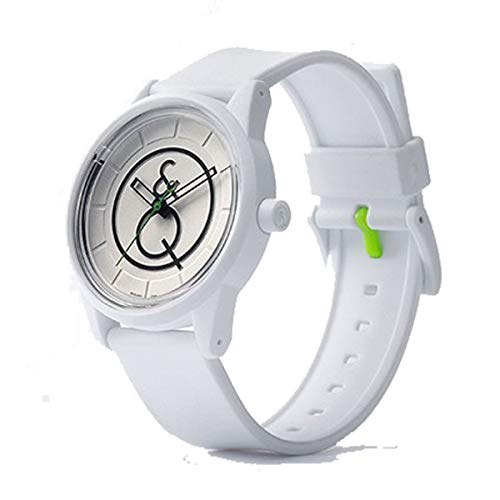 Q&Q Smile Solar Reloj unisex ecológico por Citizen, resistente al agua de 5 ATM RP00J016Y