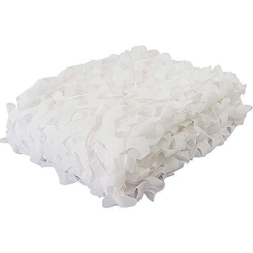 DLLY Weiß Tarnnetz, Camouflage Netz, verwendet, um Schatten, Anzieh Garten, Partei, Hotel, Schwimmbad, camo Netting, Strand, Ausstellung Hintergrund,5x7m(16.4 * 23ft)