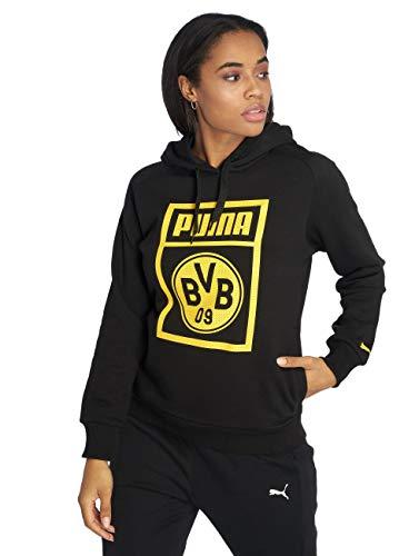 PUMA Borussia Dortmund Fanwear Kapuzenpullover Damen XXL - 44