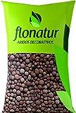 flonatur Arlita 20L para Drenaje de macetas y Jardines. Arcilla expandida en Forma de Bolas....