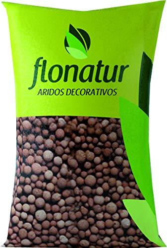 flonatur Arlita 20L para Drenaje de macetas y Jardines. Arcilla expandida en...