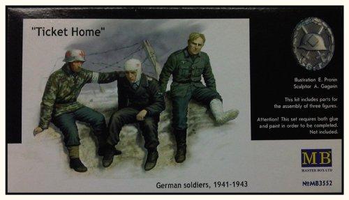 Masterbox 1:35 - 'Ticket Home' German Soldiers 1941-1943 - MAS3552