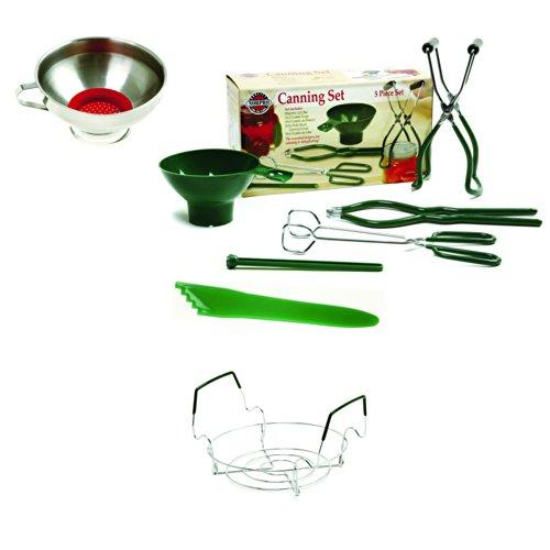 Norpro Canning kit Essentials Plus–otto (8) Piece Kitchen Tool Bundle