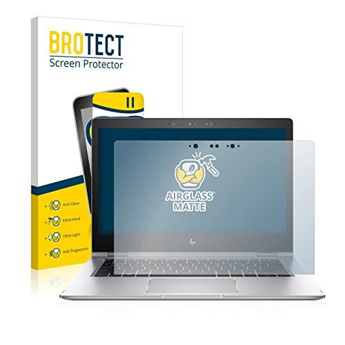 BROTECT Entspiegelungs-Panzerglasfolie kompatibel mit HP EliteBook x360 1030 G2 - Anti-Reflex Panzerglas Schutz-Folie Matt