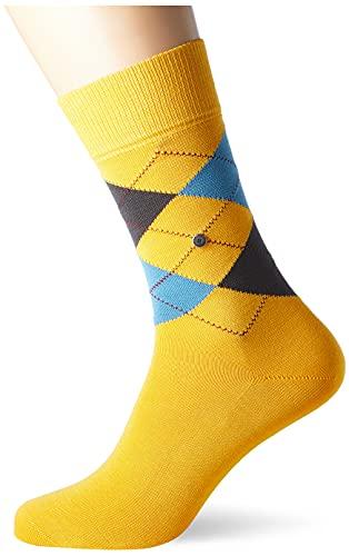 Burlington Herren Manchester M SO Socken, Gelb (Sun Ray 1316), 40-46