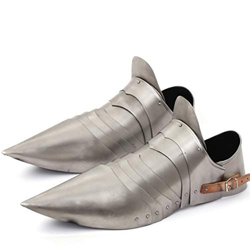 Armor Shoes Par Medieval Knight Steel Armor Sabaton