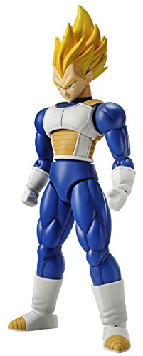 Bandai Hobby Vegeta Super Saiyan Model Kit Figura 14 cm Dragon Ball Z Figure-Rise Standard, Multicolor 83668P