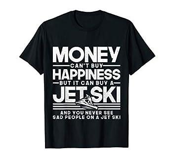 Jet-Ski Happiness Water Sports Design T-Shirt