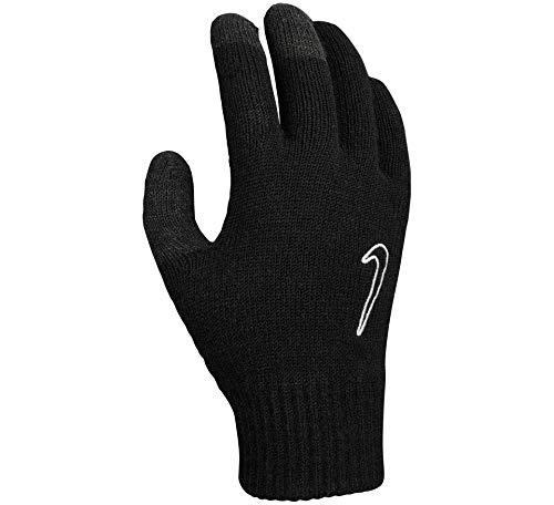Nike Herren Knitted Tech and Grip Handschuhe, 091 Black/Black/White, L/XL